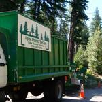 The Alpine Arborists Tree Care crew hard at work in the Lake Tahoe area. Photos taken at various locations from Truckee to Meeks Bay and many sites in between.